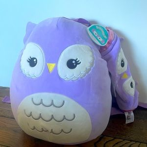 Miranda Owl backpack and pencil case